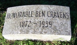 William Benjamin Ben Cravens