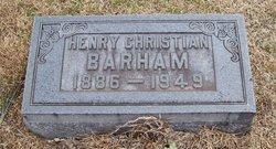 Henry Christian Barham