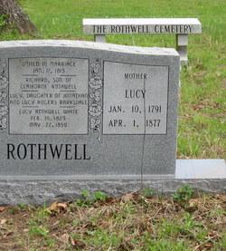 Lucy <i>Barksdale</i> Rothwell
