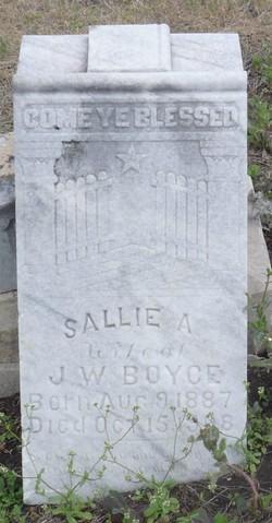 Sallie A. Boyce
