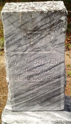 W M Bowen