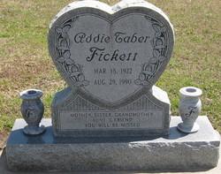 Addie <i>Taber</i> Fickett