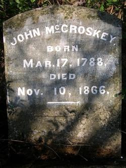John McCroskey