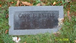 Carr Emmitt Battle, Sr