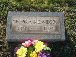 Georgia B. <i>Pusey</i> Davidson