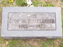 Georgia B. Alexander