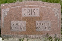 Minnie Estella <i>Ayres</i> Crist