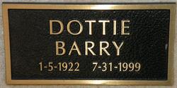 Dorothy Dottie Barry