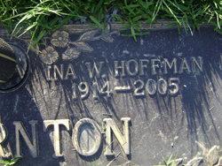 Ina <i>Whiteley</i> Hoffman