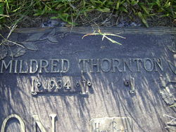 Mildred Louise <i>Thornton</i> Harrison