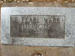 Henriett Pearl Etta <i>Webb</i> Boyington