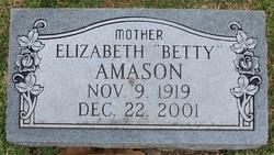 Elizabeth Betty Amason