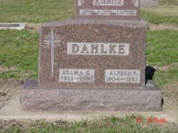 Selma Gerturd Ida <i>Bergs</i> Dahlke