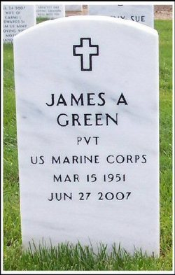 Pvt James Arthur Green
