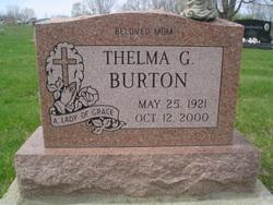 Thelma G Burton