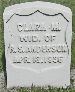Clara M. <i>Brink</i> Anderson