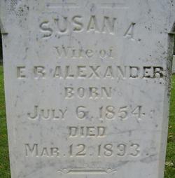 Susan Ann <i>Baldridge</i> Alexander