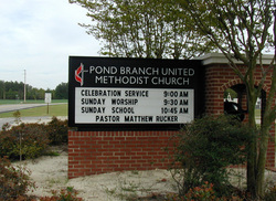 Pond Branch United Methodist Church Cemetery