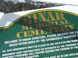 Minar Memorial Cemetery