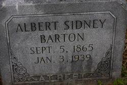 Albert Sidney Barton
