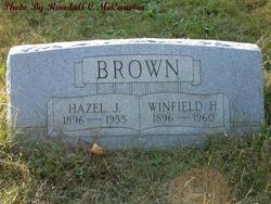 Hazel Jenetta <i>Warren</i> Brown