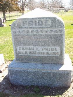 Sarah L. Pride