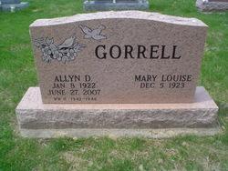 Allyn D Gorrell