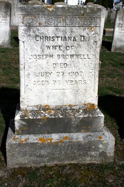 Christiana Durfee <i>Manchester</i> Brownell