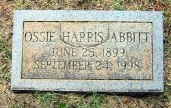 Ossie Harris Abbitt