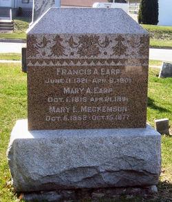 Mary Adeline <i>Romans</i> Earp