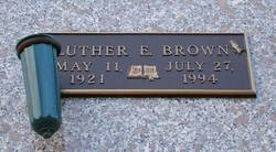 Luther E Brown