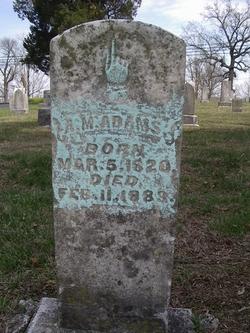 A. M. Adams
