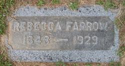 Rebecca <i>King</i> Farrow