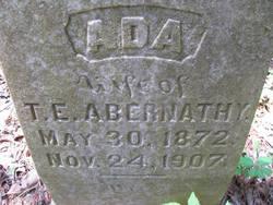 Ada Jane <i>Axton</i> Abernathy