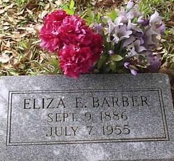 Eliza E <i>Cook</i> Barber