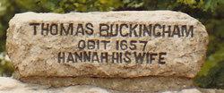 Hannah <i>Hawkins</i> Buckingham