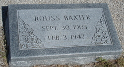 Rouss Baxter
