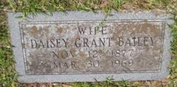 Daisey <i>Grant</i> Bailey