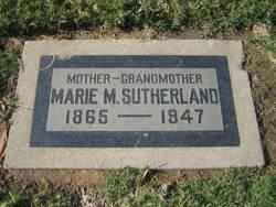 Marie Magdelina <i>Schmitz</i> Baerecke Hayward Sutherland