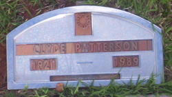 Clyde Elvis Patterson