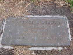 PFC Clarence E Roberts