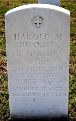 Harold M Brandt