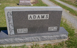 Maryellen Birdie <i>Morris</i> Adams