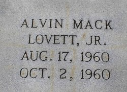 Alvin Mack Lovett, Jr