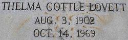 Thelma Cottle Lovett