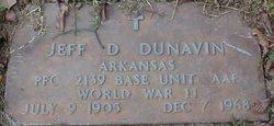 Jeff Davis Dunavin