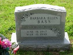 Barbara Ellen <i>Johnson</i> Bass