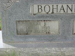 Edgar B Bohannon