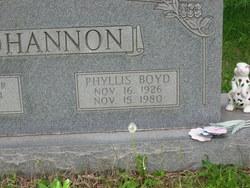 Phyllis <i>Boyd</i> Bohannon