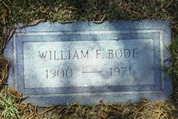 William Frederick Bode